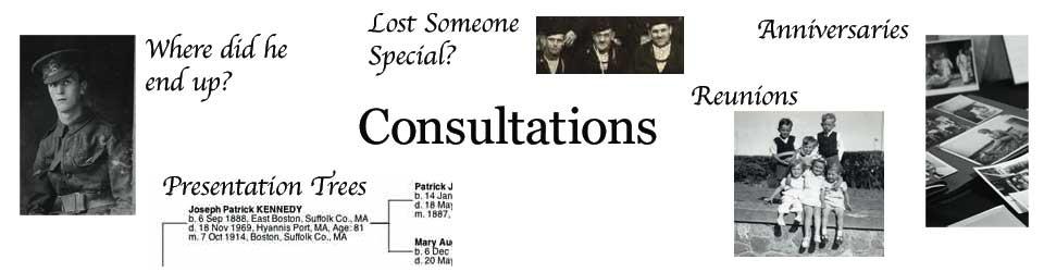 Grange Genealogy Consultations Banner Image