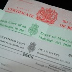 birth marriage and death certificate